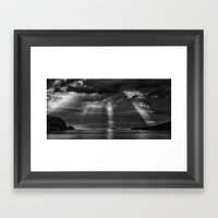 To the north Framed Art Print