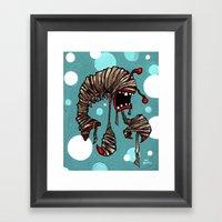 Lobster Mummy! Framed Art Print