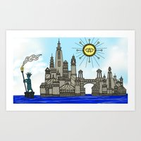 Old York City Art Print