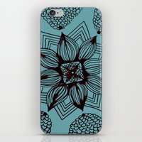 Flowering iPhone & iPod Skin