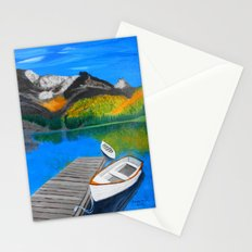 Summer day on the lake  Stationery Cards