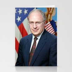 Official portrait of Secretary of Defense Richard B. Cheney Stationery Cards