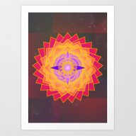 Art Print featuring Guiding Star by Mimulux