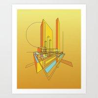 City Movements 05 Art Print