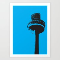 Radio City Art Print