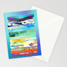 COLLAGE LOVE - a Princess and a pea  Stationery Cards