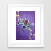 Astro Zodiac Force 10:  Rooster Framed Art Print