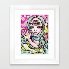 Meredith Framed Art Print