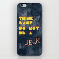 Think Easy. iPhone & iPod Skin