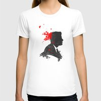The Assassination of John F. Kennedy Womens Fitted Tee White SMALL