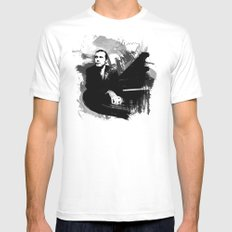 Glenn Gould Mens Fitted Tee White SMALL