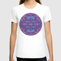 Colorful Womens Fitted Tee White SMALL