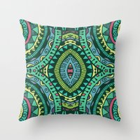 Spearmint Throw Pillow