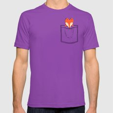 My Pet Mens Fitted Tee Ultraviolet SMALL