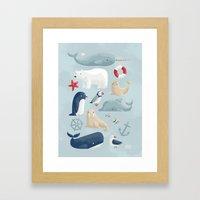 Seafaring Framed Art Print