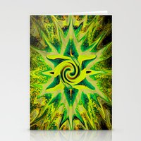 RASTA STAR Stationery Cards
