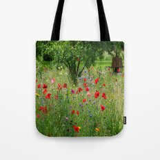 Summer meadow in a Park  Tote Bag