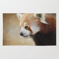 Red Panda Watching - Wil… Rug