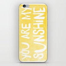 My Sunshine Love iPhone & iPod Skin