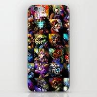 Videogame MashUP iPhone & iPod Skin