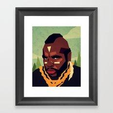 Childhood Hero Framed Art Print
