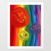 ColorOffense Art Print