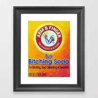 Arm & Finger Bitching So… Framed Art Print