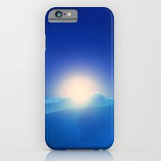 Ice Cold Blue Slim Case iPhone 6s