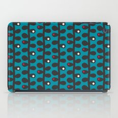 Like a Leaf [blue] iPad Case