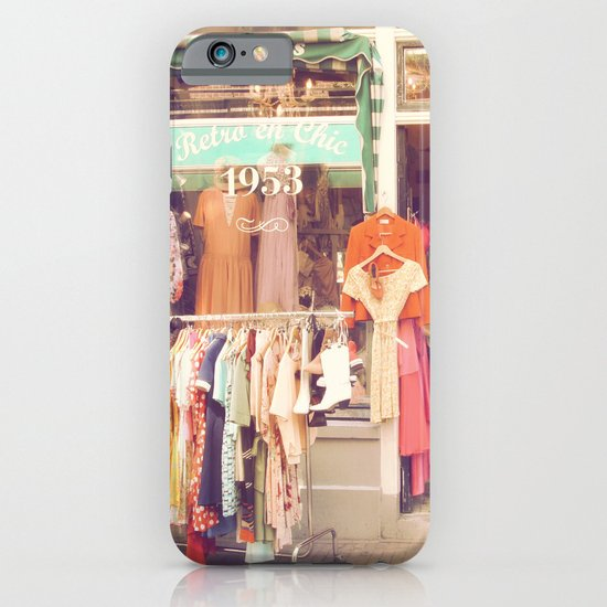 Vintage Shop iPhone & iPod Case