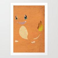 Charmander Art Print