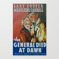The General Died At Dawn Canvas Print
