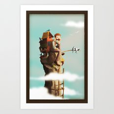 Bird Keeper Art Print