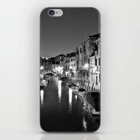 Venitian Canal. Santa Cr… iPhone & iPod Skin