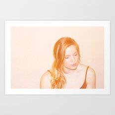 Liz Art Print