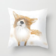 F.O.X Throw Pillow