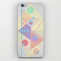 Geometric pastel 01 iPhone & iPod Skin