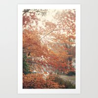 Home for Thanksgiving Art Print