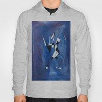 Blue Pattern Art  Hoody