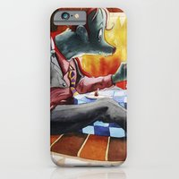 iPhone & iPod Case featuring Dinner time by Jose Luis Ocana