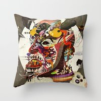 Mr. Nice Throw Pillow