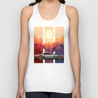 Into the Sun, Ford Mustang 65 KB Unisex Tank Top