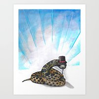Ssssseriously Art Print