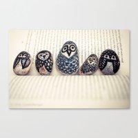 Owly Owl Yeah Canvas Print