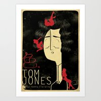 Tom Jones Art Print