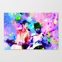 Jane's Addiction Canvas Print