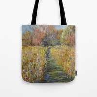 Path In The Meadow Tote Bag