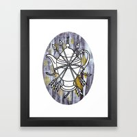 Four Arrows Framed Art Print