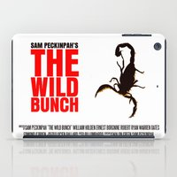The Wild Bunch Movie Pos… iPad Case