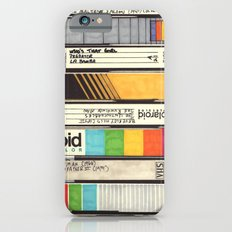 VHS Detail iPhone 6 Slim Case